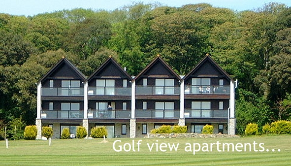 Clowance Golf view apartments overlooking the course